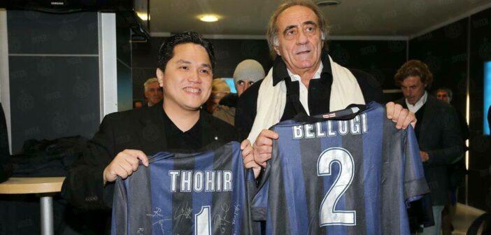 Mauro Bellugi, l'omaggio della Curva Nord prima del derby Milan-Inter