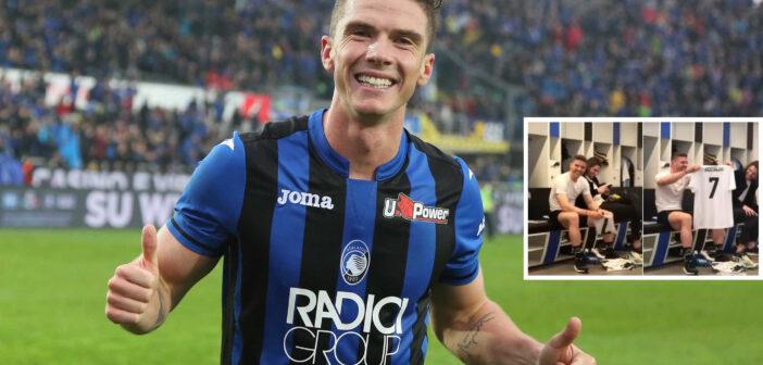 Gosens e la maglia che gli ha negato CR7: alla fine Hateboer gliela regala!