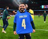 L'Italia batte la Spagna e gli Azzurri dedicano la vittoria a Spinazzola